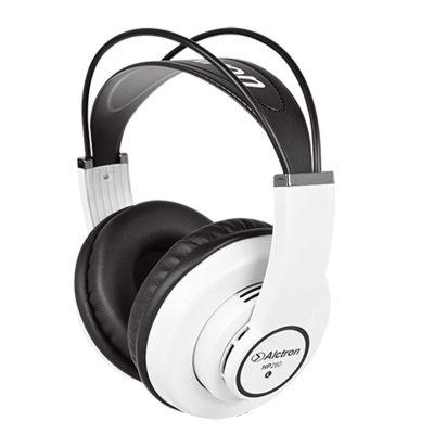 אוזניות מוניטור בצבע לבן Alctron HP280 - לבמה ציוד הגברה ותאורה בע״מ