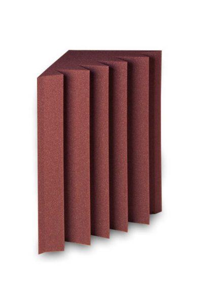 מלכודת בס בצבע אדום EZ acoustics EZ Foam Bass Trap 60x30x30cm - לבמה ציוד הגברה ותאורה בע״מ
