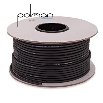 גליל כבל XLR איכותי באורך 100 מטר POLMAN SY206