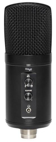 מיקרופון USB קונדנסר Stagg SUSM60D - לבמה ציוד הגברה ותאורה בע״מ