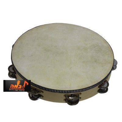 """טמבורין 8"""" Jinbao 908H Tamburin לבמה - כלי נגינה"""