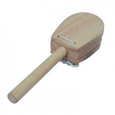 קסטנייטות עץ עם ידית Jinbao לבמה כלי נגינה